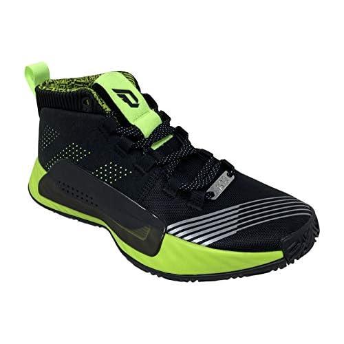 adidas Boy's Dame 5 Star Wars Lightsaber Green Basketball Shoes