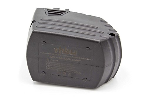 vhbw Battery Replacement for Hilti SFB150, SFB155 for Electric Power Tools (1500mAh NiMH 15.6V)