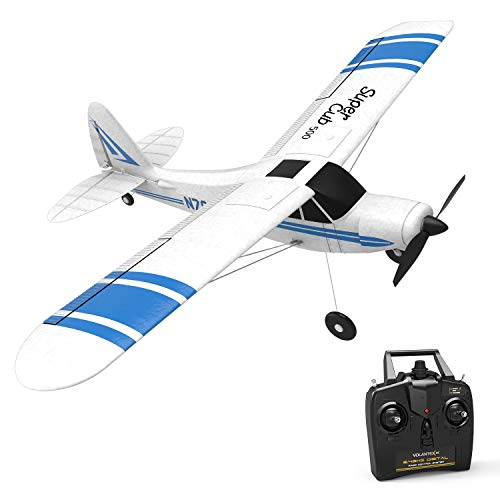 VOLANTEXRC 2.4GHz RC Airplane Super Cub 500 Remote Control Aircraft Ready to Fly with Xpilot Stabilization System & One Key U-Turn for Beginners (761-3)