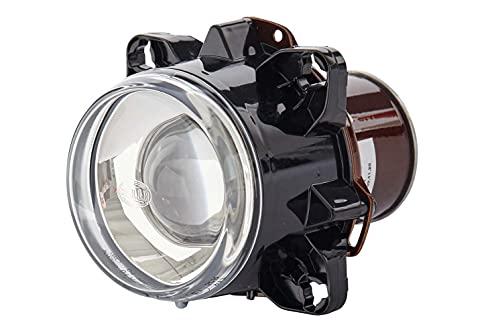 HELLA 1BL 008 193-001 DE/Halogène-Optique, projecteur principal - 90mm Essential - 12V - rond - Montage encastré - Couleur du voyant: limpide - gauche/droite