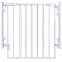 This sturdy Safety 1st baby gate can be opened with one hand and adjusted to fit doorways and openings ranging from 29 to 42 inches wide This gate comes fully assembled for quick and trouble-free installation for a flat mounting surface at least 3.5 ...