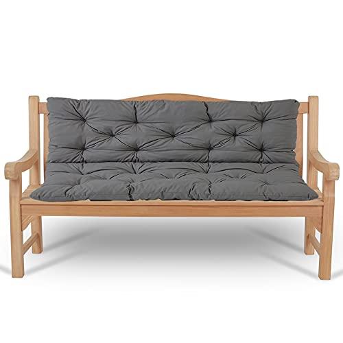ZJHTK Patio Bench Cushions Outdoor for Garden...