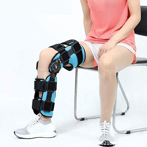 XHDMJ Verstellbare Kniebandage Knie Sleeve Unterstutzung Klammer Für Nach Der Operation, Mit Gelenkschienen Für Damen Und Herren