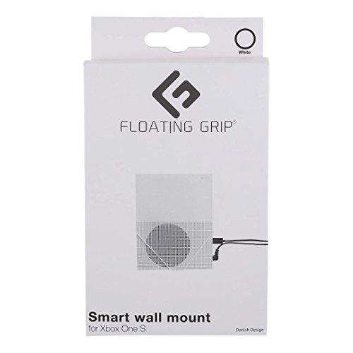 Wandhalterung für Xbox One S von FLOATING GRIP® - Zum Patent angemeldet durch FLOATING GRIP ApS - Made in Dänemark