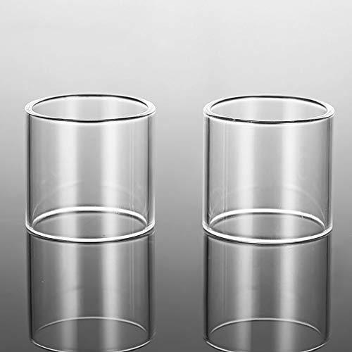 Denghui-ec, 2pcs Glass Tank/GlassTube para Vaporesso Target Pro/NRG Tank 5ml / NRG Mini/Revenger X 5ml / NRG SE Mini Tank/NRG SE Tank/NRG SE Tank,Sin Tabaco ni nicotina
