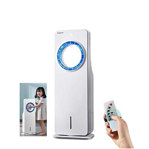 El aire frío 7000BTU aparato de aire acondicionado portátil, tres-en-uno for suelo de aire acondicionado, 3 de velocidad del ventilador, pantalla digital LED, 6 Medidor de control remoto, blanca YCLIN