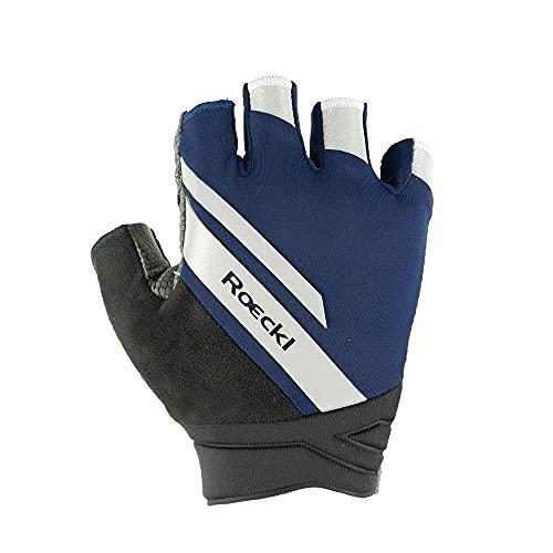 Roeckl Impero Fahrrad Handschuhe kurz blau/schwarz 2021: Größe: 9.5