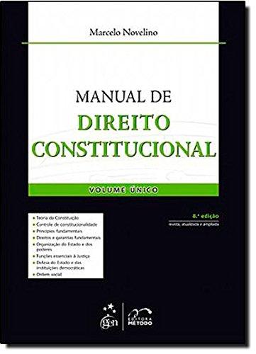 Manual De Direito Constitucional