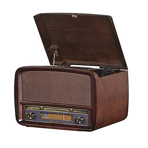 YaGFeng Tocadiscos Retro Big Horn de Audio de la Sala