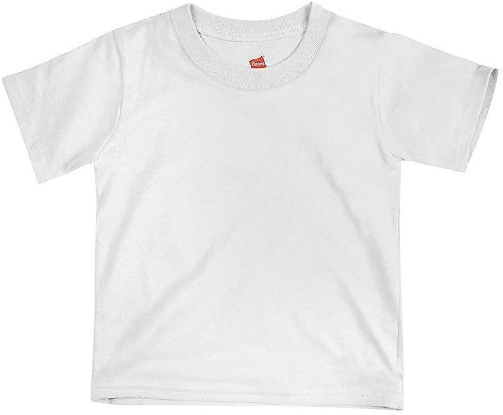 Hanes Baby Girl's Tagless T-Shirt