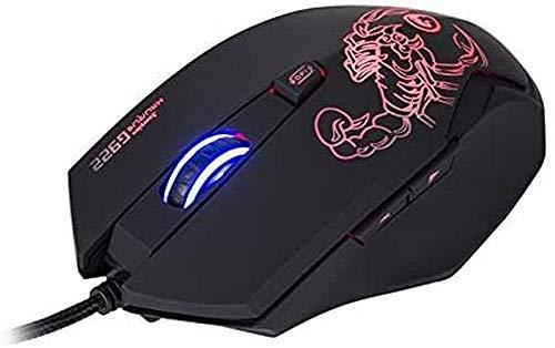 Marvo G922 4000 DPI Optical Gaming Mouse - Black
