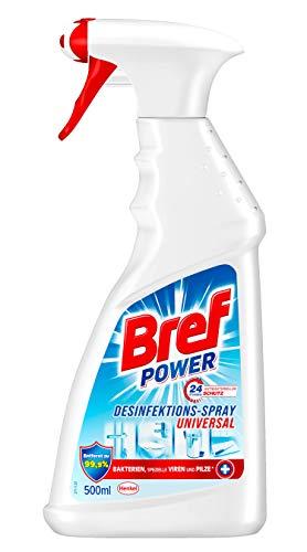 Bref Power Desinfektions-Spray Universal, Sprühflasche, Reiniger für ein gründlich sauberes Zuhause (1er Pack (1 x 500 ml))