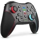 Switch コントローラー 2021改良版 FOCOLABU スイッチ コントローラー ワイヤレス プロコン スイッチ スイッチライトに適用ゲームパッド 日本語取扱説明書