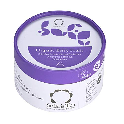 Solaris Tea BIO Berry Fruity, 15x2g biologisch abbaubare Pyramiden-Teebeutel,  15 Stück