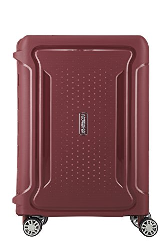 American Tourister Tribus Hardside Luggage with Spinner Wheels, Red, Carry-On 20-Inch