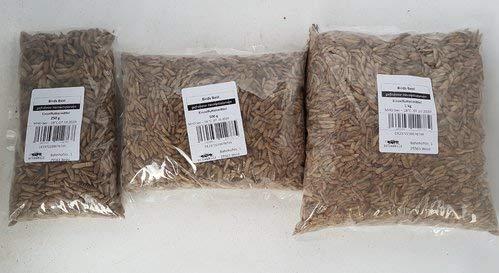 Hermetialarven / Soldatenfliegenlarven gefroren 250g 500g 1000g 250 g 500 g 1 kg | Aufzuchtfutter z.b für Schwalben Mauersegler (500g)