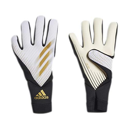 adidas X League Guanti da Portiere, White/Gold Mt/Black, 9 Uomo