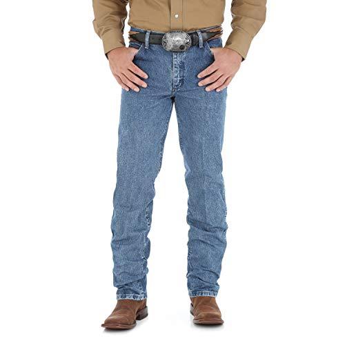 Wrangler Herren Premium Performance Cowboy Schnitt Regular Fit Jeans - Blau - 33W / 32L