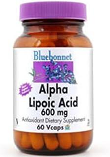 Bluebonnet Nutrition Alpha Lipoic Acid 600 Mg, 60VC 600 Mg(Pack of 2)