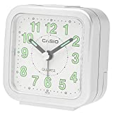 CASIO(カシオ) 目覚まし時計 アナログ トラベルクロック シルバー TQ-141-8JF 6.7×6.4×3.4cm
