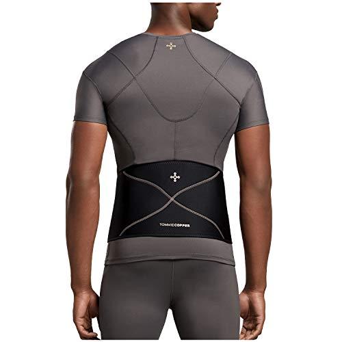 Tommie Copper - Men's Comfort Back Brace - Black - 2X Large/3XL