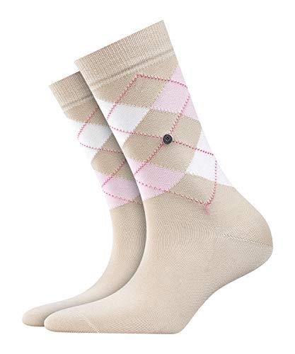 BURLINGTON Damen Socken Covent Garden - 80prozent Baumwolle, 1 Paar, Beige (Ginger 4006), Größe: 36-41