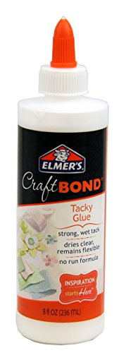 Elmer's E461 Craftbond Tacky Glue 8Oz, 8 oz, Multicolor