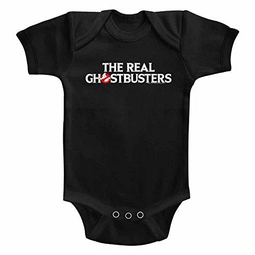 American Classics Solide plante grimpante la vraie ghostbusters tv break de snapsuit pour Bébé garçon 18 mois Noir