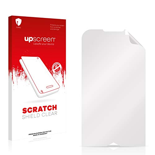 upscreen Schutzfolie kompatibel mit Samsung GT-i8000 – Kristallklar, Kratzschutz, Anti-Fingerprint