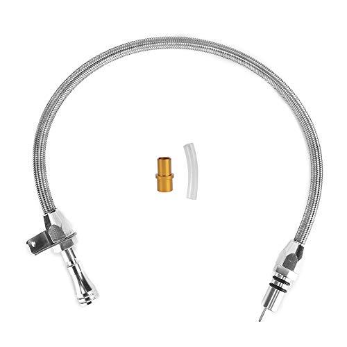 Asta di livello Qiilu, astina di livello della trasmissione in acciaio inossidabile 350 adatta per GM TH350 Tranny SBC BBC Trans