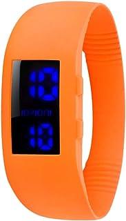 IOION L-RGF25-II Casual Watch For Unisex Digital Silicone - Orange