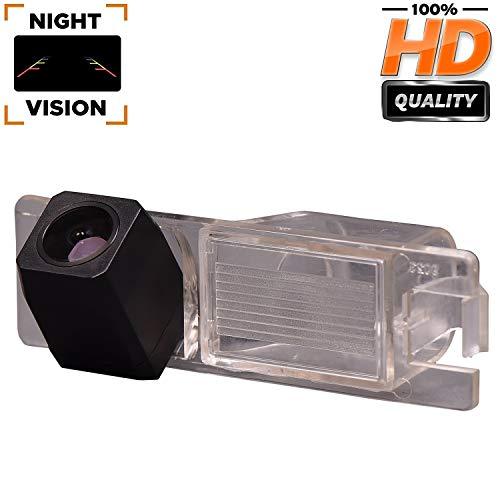 Telecamera di retromarcia aggiornata 1280 x 720p integrata in luce targa telecamera posteriore per Opel Vectra C/Astra H/Corse D/Zafira B/Tigra Meriva A/Insignia