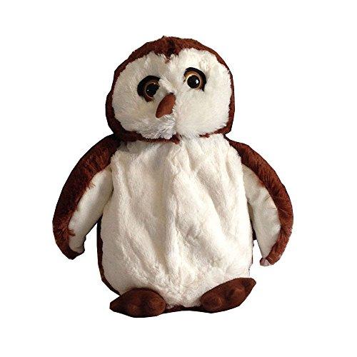 3D HOT Water Bottle Cute Cuddly Novelty OWL Large 45cm