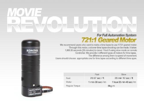 Konova Geared Motor 516:1