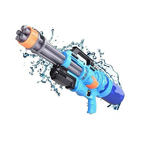 Sdesign Water Gun with 6 Nozzles, Super Water Pistol Soaker Blaster with 1540ML Large Capacity, Pump Water Guns Powerful 33Ft Long Shoot Range