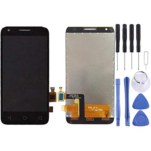 MDLIX GJT AYSMG LCD-Bildschirm und Digitizer Vollversammlung for Alcatel One Touch Pixi 3 4.5/4027 (schwarz) (Color : Black)
