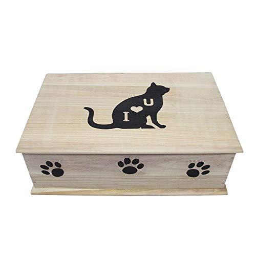 FxsD Ataúd Mascota, Perro ataúd, ataúd del Gato, Gato y Perro ataúd, entierro del Animal doméstico, el Funeral de entierro (Color : Pink, Size : L)