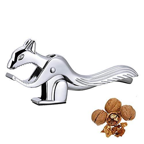 Cascanueces clip de castaño de aleación de zinc, forma de ardilla abridor de nueces de nuez herramienta creativa cortadora de castañas Gadget de cocina