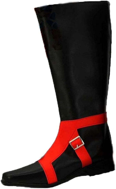 Cosstars JOJO'S BIZARRE ADVENTURE 5 GUIDO MISTA Anime Cosplay Schuhe Stiefeletten Stiefel
