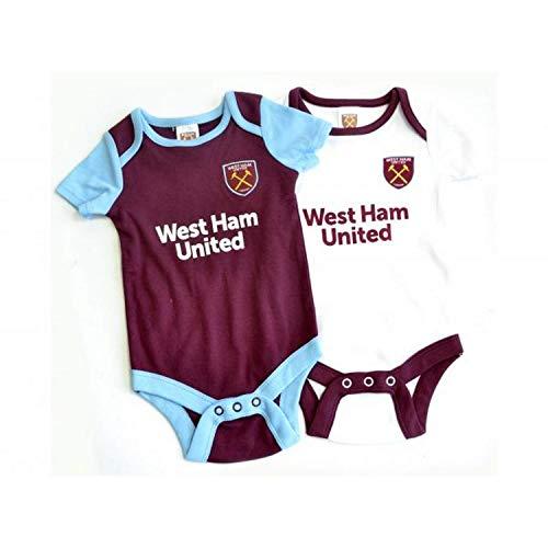 Brecrest West Ham United Baby Bodysuits 2019/20-6-9 Months