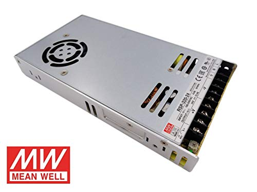 Fuente de alimentacion 320W 24V 13.4A Mean Well Enclosed RSP-320-24 Power Supply AC/DC