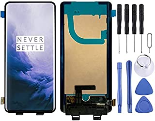 SHUHAN LCD Screen Phone Repair Part LCD Screen and Digitizer Full Assembly for OnePlus 7 Pro / 7T Pro Mobile Phone Accessory