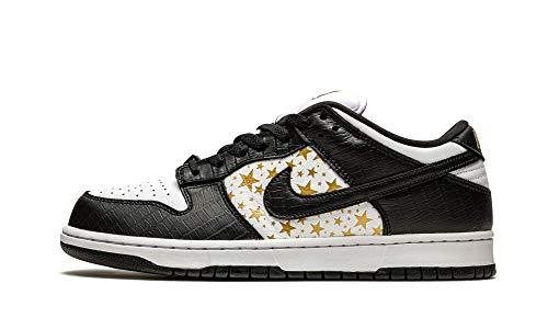 Nike Mens SB Dunk Low DH3228 102 Supreme - Stars - Black - Size 9