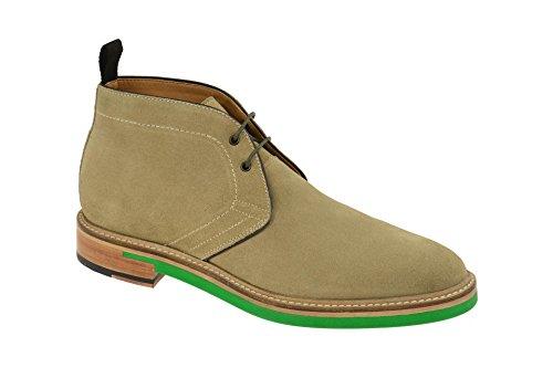 Gordon & Bros Danilo 623027 Herrenschuhe Herren Businessschuhe, Schnürstiefel, Boots, Anzugsschuhe, Derby Schuhe, Blake Beige (beige Green), EU 44