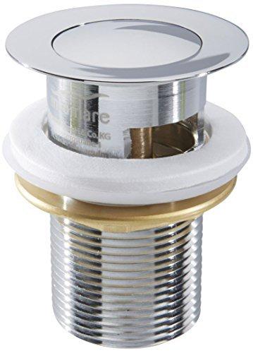 MIOMARE® Press Exzenter Ablaufgarnitur / Pop Up Ablaufventil für Waschbecken