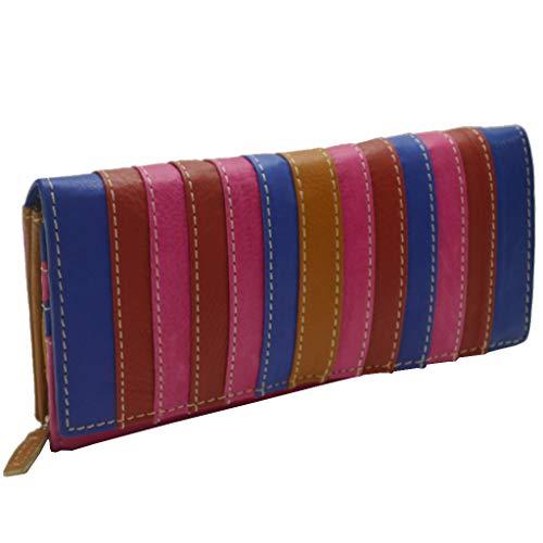 flevado Porte-monnaie arc-en-ciel pour femme - Design coloré