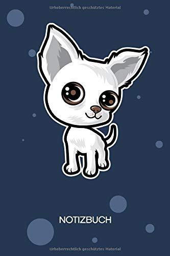 NOTIZBUCH A5 Blanko: Kinder SKIZZENBUCH - 120 Seiten für Notizen Skizzen Zeichnungen - Hundewelpe Notizheft - Haushund Geschenk für Hundeliebhaber Hundebesitzer Hundefreunde