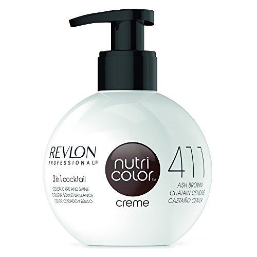 REVLON PROFESSIONAL Nutri Color Creme 411 Aschbraun (270 ml)