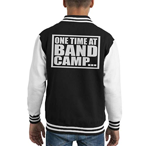 Cloud City 7 One Time bij Band Camp American Pie Kid's Varsity Jacket