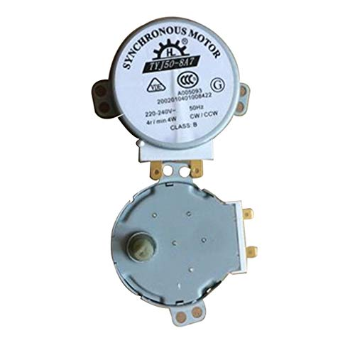 Greatwall pour Haier/Midea/Galanz Microwave Turntable Synchronous Motor Glass Silver